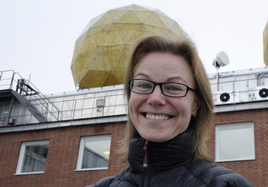 Карин Нильсдоттер работает над развитием коммерческого космического туризма на севере Швеции